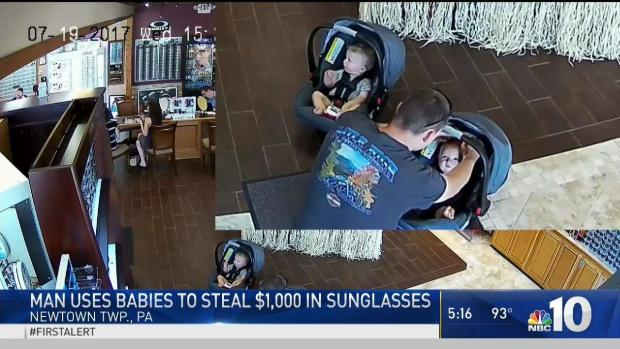 [PHI] Man Uses Babies to Steal Sunglasses