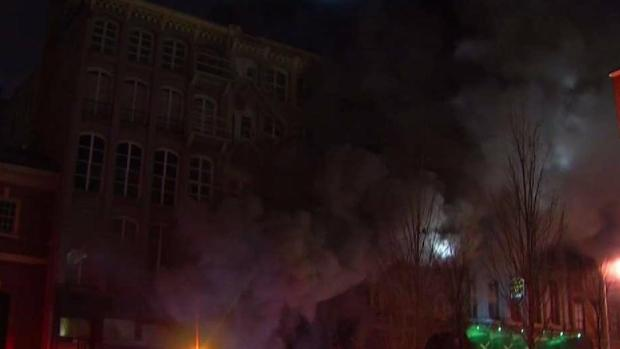 Massive Fire in Old City
