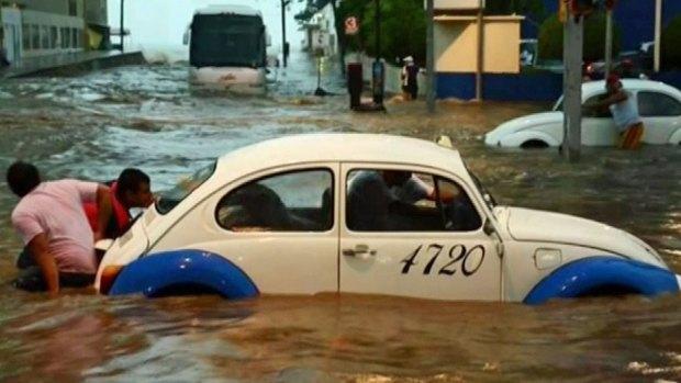 Images: Flooding Devastates Mexico Villages