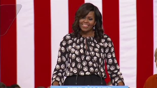 [NATL] Michelle Obama: When They Go Low We Go High By Voting