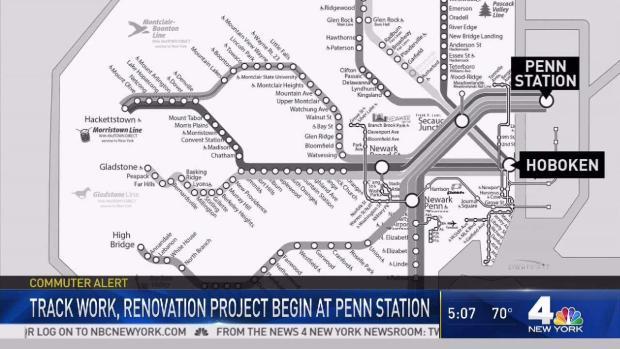 [NY] More Major Repairs Start at NY Penn Station