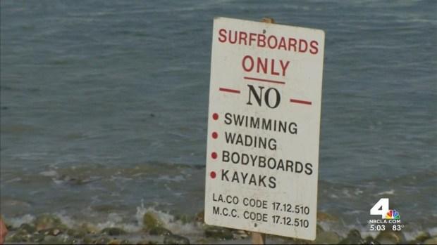 [LA] Surfer Dies in Malibu During High Surf Advisory