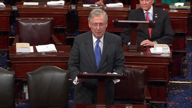 [NATL] Watch: Senators Pay Tribute to Joe Biden With Humor, Remembrances