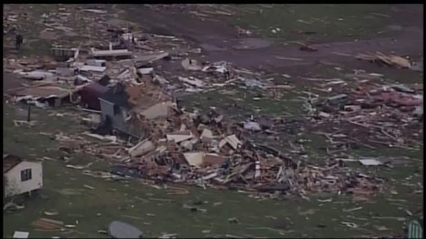 Two killed in United States tornadoes