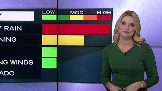 [PHI] NBC10 First Alert Weather: Periods Of Heavy Rain Could Cause Flooding