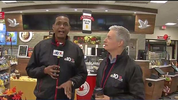 Hugs for Harry Hairston as NBC10 Hits the Road
