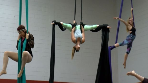 For a Unique Workout, Take to the Sky With Aerial Fitness