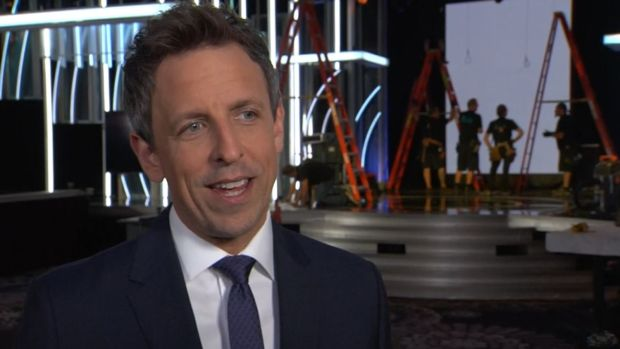 Seth Meyers Goes From Late Night to Hollywood as Golden Globes Host