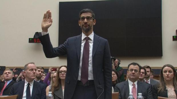 [NATL] Google Grilled on Bias, Privacy Concerns Before Congress