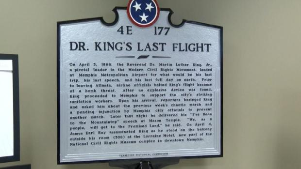 [NATL-NY] Martin Luther King Jr. Marker Unveiled at Memphis Airport