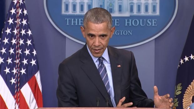 [NATL] Obama Condemns Russian Hacking in Last Year-End News Conference
