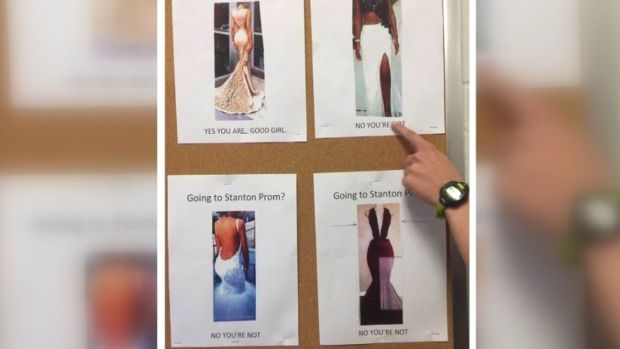 [NATL] 'Good Girl': Prom Dress Guideline Fliers Slammed by Students for Sexism