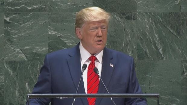 [NATL]Trump Embraces Nationalism, Lashes Out At Iran In UN Speech