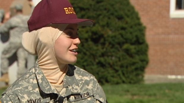 [NATL] Military College Welcomes Hijabs