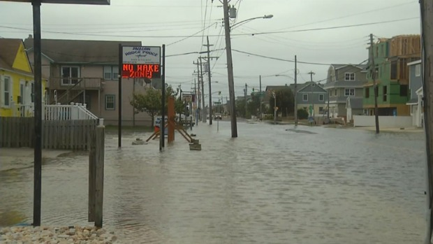 Flooding in Jersey Continues