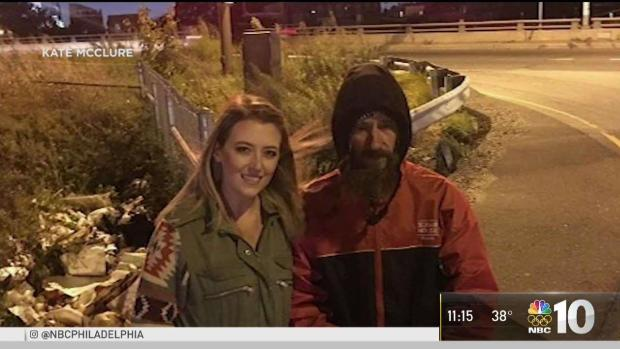 NJ Woman Raises Money for Homeless Man