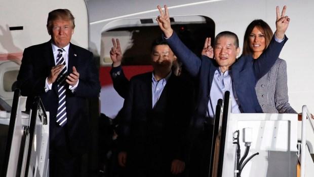 [NATL-BAY] 'It's Like a Dream': Americans Freed From N. Korea Return