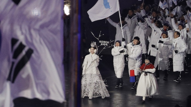 [NATL] Best Moments From the Opening Ceremony in Pyeongchang
