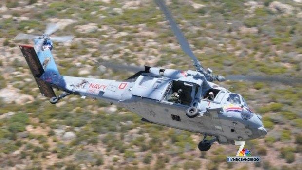 Knighthawk Chopper Crashes in Red Sea