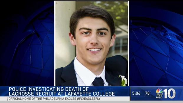 Lafayette College student died of head injuries