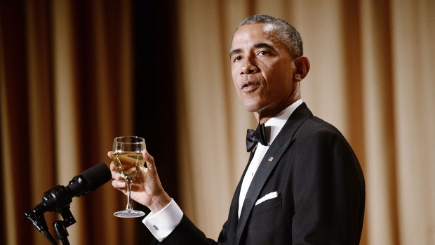 [NATL] WATCH: Obama's Best Jokes at White House Correspondents' Dinner