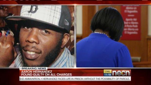"[NATL] ""I Miss My Baby Boy"": Odin Lloyd's Mother Reacts to Aaron Hernandez Murder Verdict"