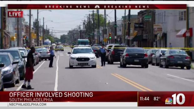 Officer Involved Shooting in South Philadelphia