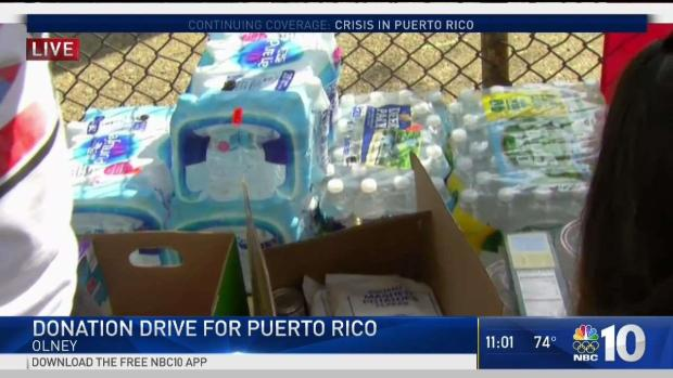 [PHI] Olney Takes Initiative for Puerto Rico Relief