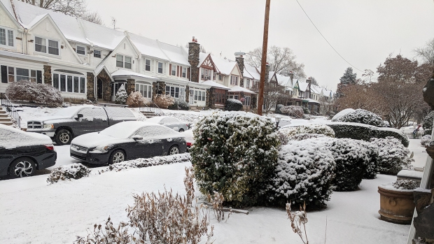 Snow Falls Throughout the Region