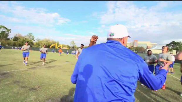 Owl Access: Head Coach Geoff Collins' First Practice