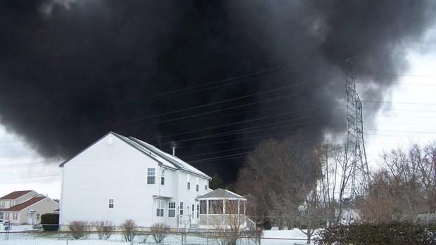 [GALLERY]Pennsauken Tanker Truck Fire