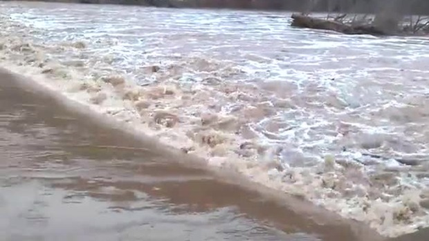 Perkiomen Creek at Flood Stage