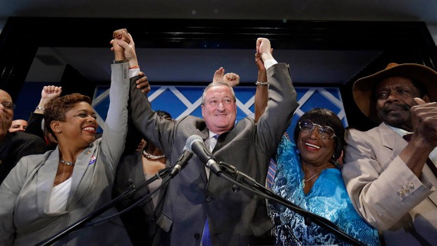 Jim Kenney Makes Victory Speech in Mayoral Nomination