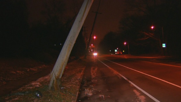 [PHI] Winds Take Down Utility Poles in Wynnefield