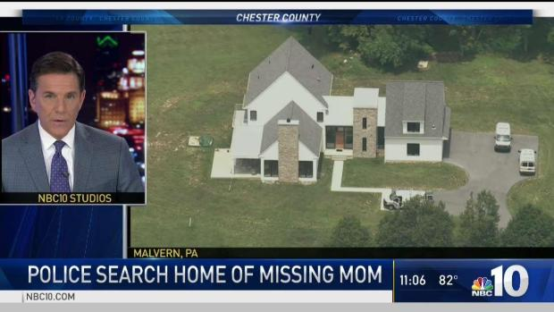 [PHI] Police Search Chester County Home of Missing Mom