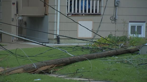 Thousands Still Without Power a Day After Severe Storms