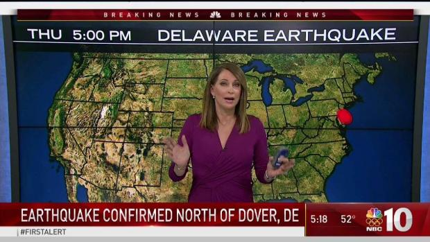 4.1 magnitude natural disaster rocks East Coast