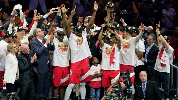 [NATL] Top Sports Photos: Toronto Raptors Capture 1st NBA Title