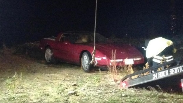 [PHI] Estranged Wife Scared for Safety After Husband Puts Corvette Into River