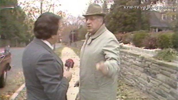 Frank Rizzo's Run-In With Reporter Stan Bohrman