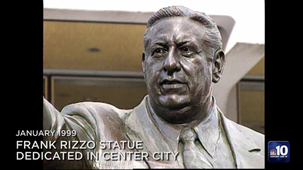 From the Archives: Frank Rizzo Statue Dedicated in Center City