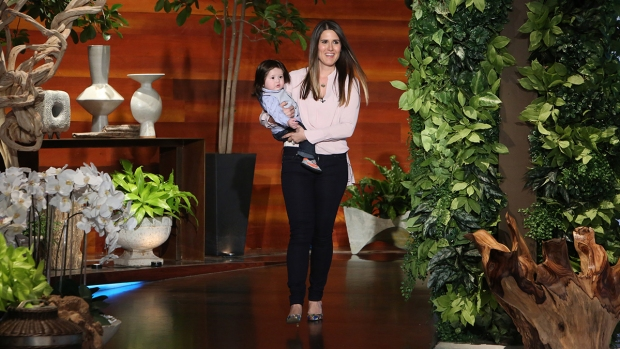 Montco Baby With Rock Star Hair Appears on 'Ellen'