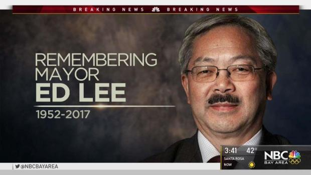 San Francisco Mayor Ed Lee Dies at 65