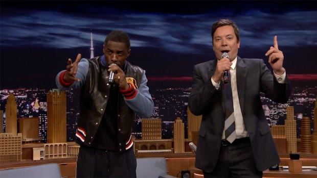 [NATL] 'Tonight': Google Translate Songs With Idris Elba