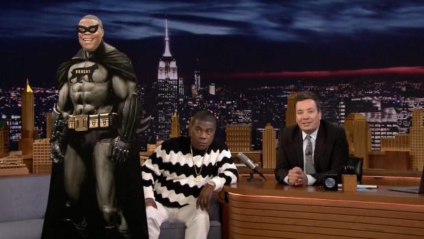 [NATL] 'Tonight': 'Black Panther' Stole the Idea from Tracy Morgan's Black Bobcat