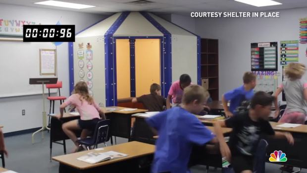 [NATL] Start-Ups Create Bulletproof Shelters for Classrooms