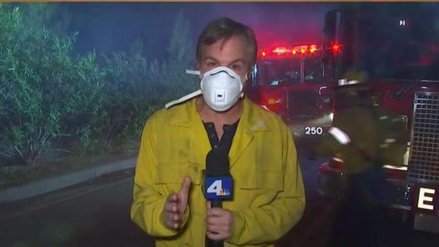 [NATL-LA] Skirball Fire Remains A Threat in Bel-Air
