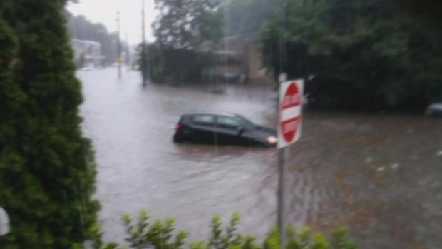 Storms Bring Flooding in Parts of Area