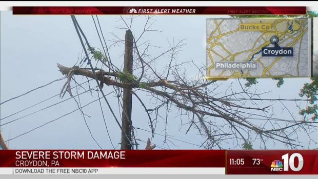 Storms Cause Damage Across the Region