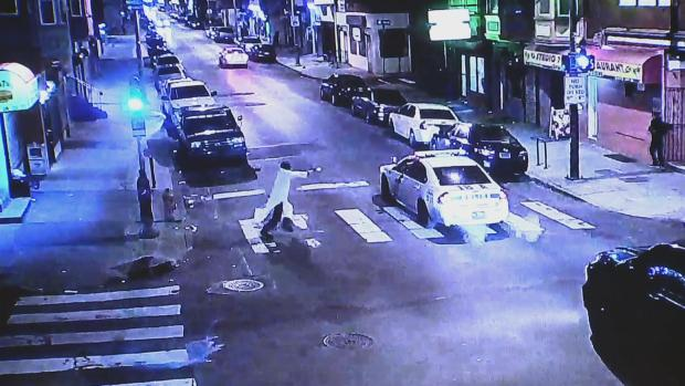 Surveillance Photos Show Shooting of Officer Jesse Hartnett